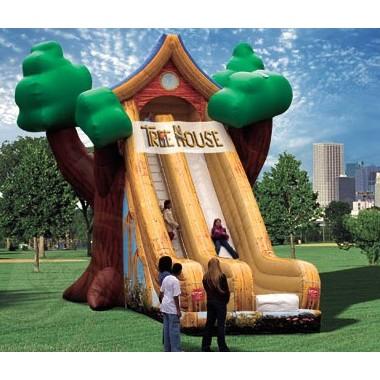 30' ft Tree House Slide