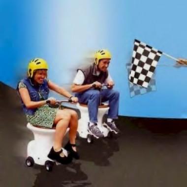 Toilet Bowl Racers