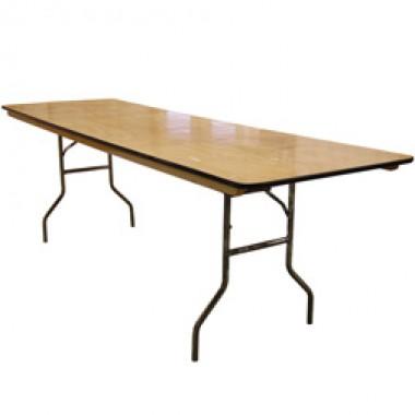 8 foot Banquet Tables